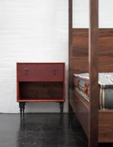 leather side table - Leather Side Tables