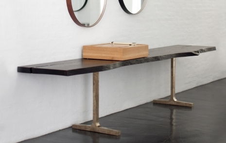 SLAB TRESTLE CONSOLE. Dining Tables · Storage