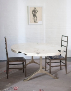 FURNITURE | MAPLE SLAB DINING TABLE | BDDW
