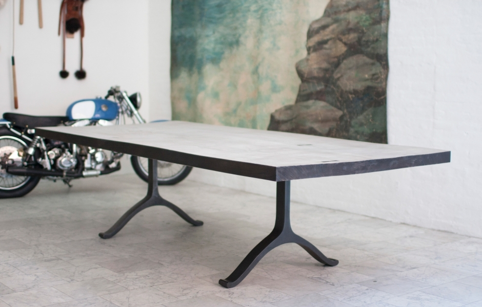 FURNITURE | WEATHERED SLAB TABLE | BDDW
